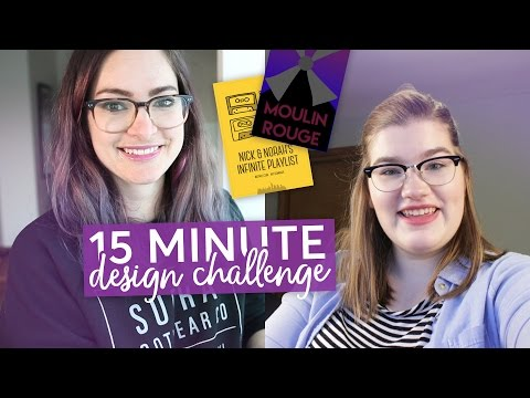 Designing a movie poster in 15 MINUTES! | Challenge w/ Katherinethe19th