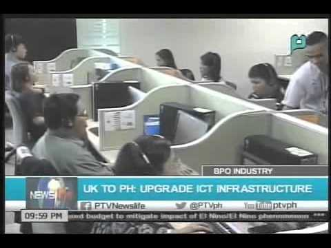 UK to PH; Upgrade ICT infrastructure