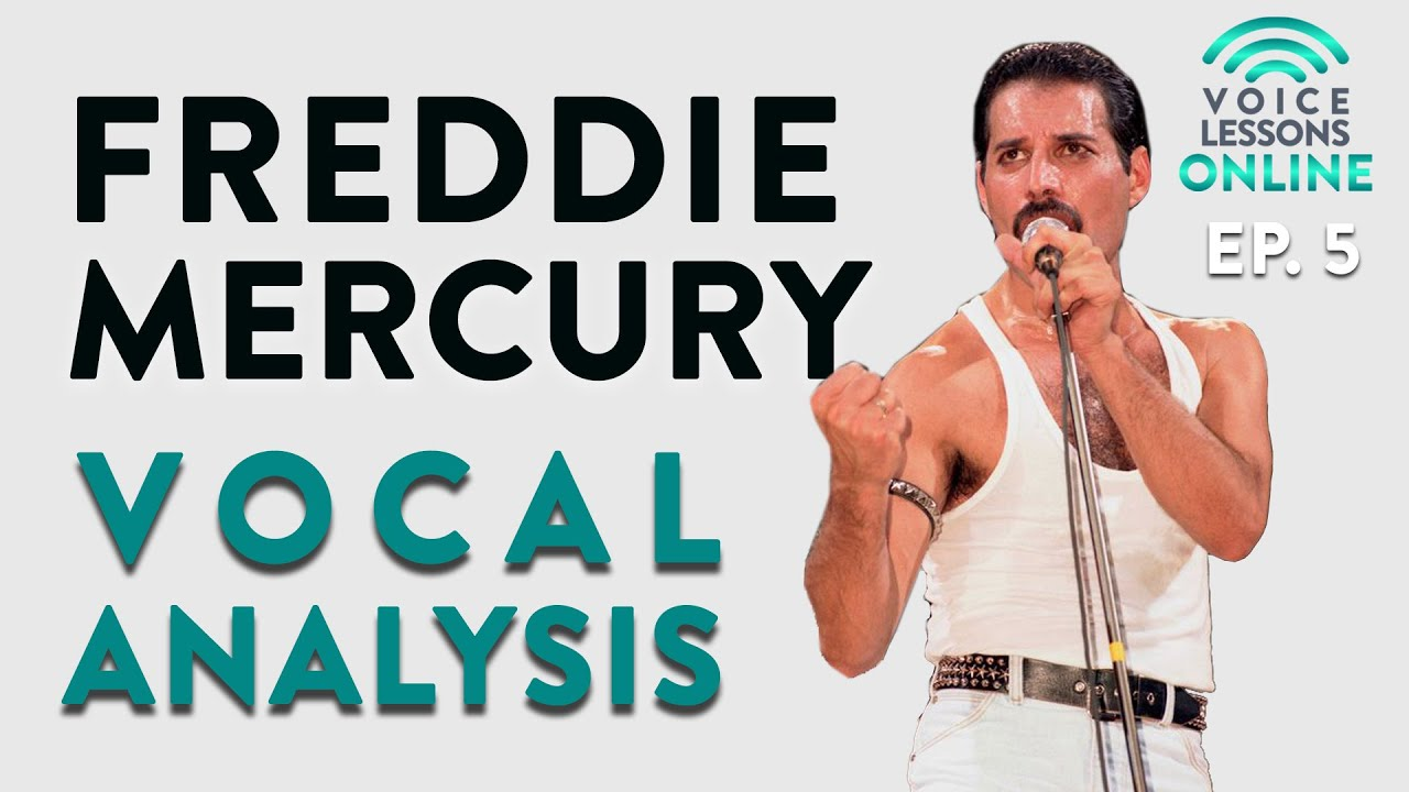 Freddie Mercury Vocal Analysis - Ep. 5 Voice Lessons Online Cover