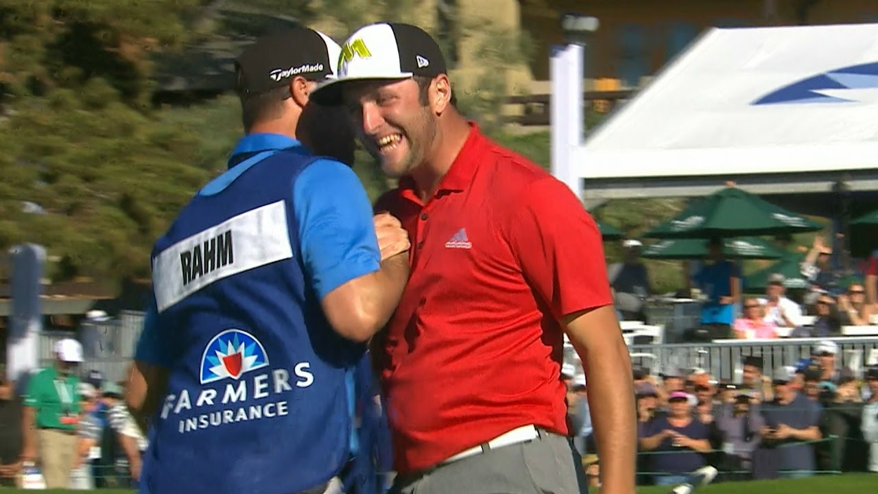 Highlights | Jon Rahm grabs first career win in style at Farmers ...