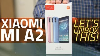 Xiaomi Mi A2 Unboxing and First Look   Camera, Specs, Features, and More