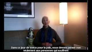 Message de Jane Goodall pour la Paix, à tous les membres et amis de Roots&Shoots autour du monde