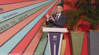 Ali Baba founder Jack Ma says his visit to Ghana is the most important one yet in Africa