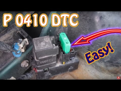 Check Engine Light Code P0410 Secondary Air Injection System Chevy Blazer GMC Jimmy S10