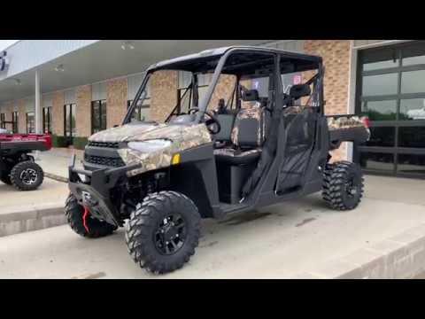 2019 Polaris Ranger Crew XP 1000 EPS Back Country Limited Edition Camo