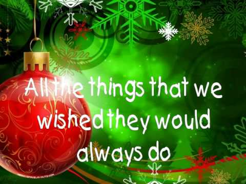 Christmas Must Be Something More - Taylor Swift with lyrics!