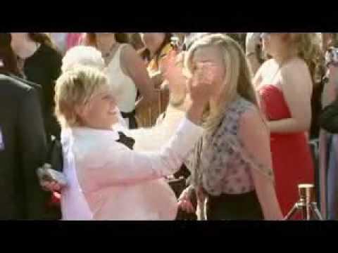 Portia De Rossi Wedding Kiss.Portia De Rossi Ellen Degeneres Kiss 34th Emmy Award Arrivals 2007