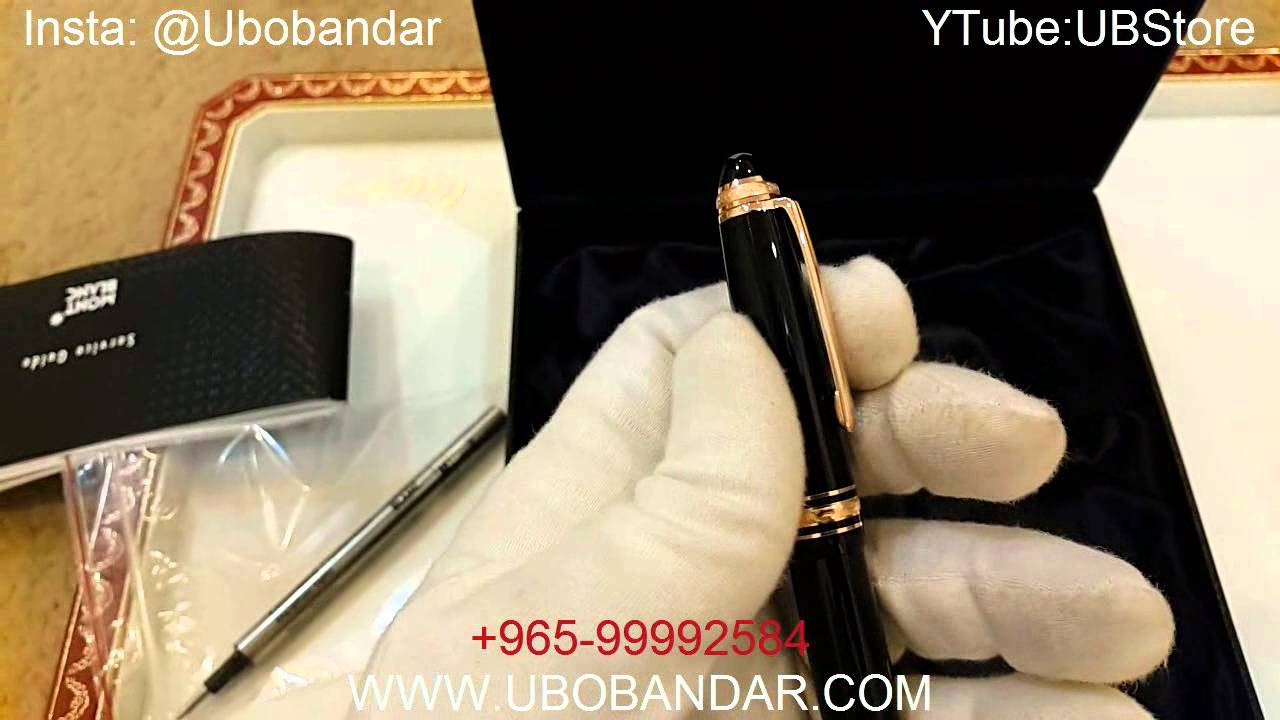 9d400b6667ff5 New Montblanc 75 Years of Passion   Soul Limited Edition Pen - YouTube