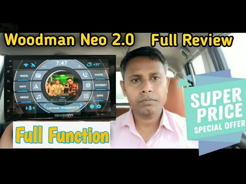 सबसे सस्ता सबसे अच्छा car Stereo Woodman Car Stereo Review| Woodman Neo 2.0 Android 8.1 2GB 16ROM |
