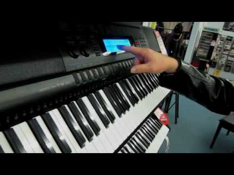 CASIO - TONES: SELECTING TONES, LAYER FUNTION, SPLIT FUNCTION, REGISTRATIONS & PIANO SETTING