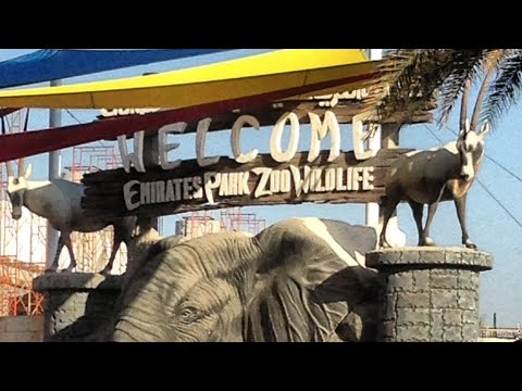 Emirates Park, Zoo & Resort Abudhabi 2017