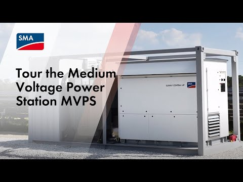 Tour the Medium Voltage Power Station MVPS