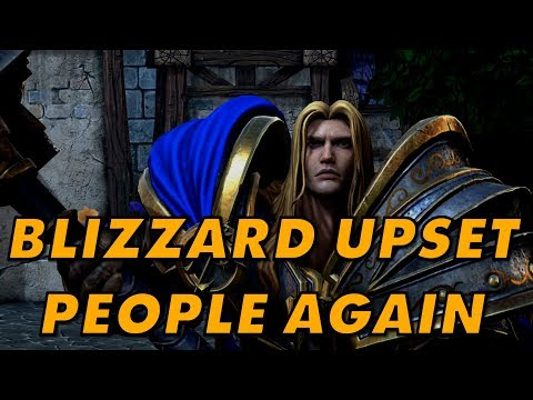Blizzard Makes Its Fans Angry Again With The Dodgy And Legally Grasping Warcraft 3: Reforged