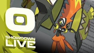 Pokemon Sun and Moon! Showdown Live: Enter Tapu Koko - Tapu Koko Showcase!