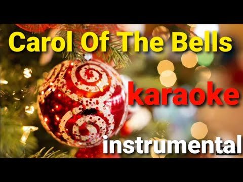 Carol of the Bells - Karaoke with lyrics - instrumental christmas carol - YouTube