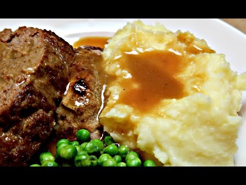 Mashed Potatoes and Brown Gravy Recipe | How to make Brown Gravy
