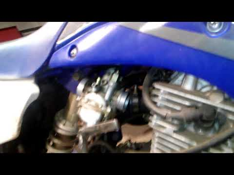 How to clean a carb on Yamaha ttr125(1)