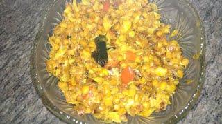 Patta gobi aur chana dal ki Tasty Sabji , SimpleIndianRecipe Gobi Chana dal Sabji,Dal Cabbage Sabji