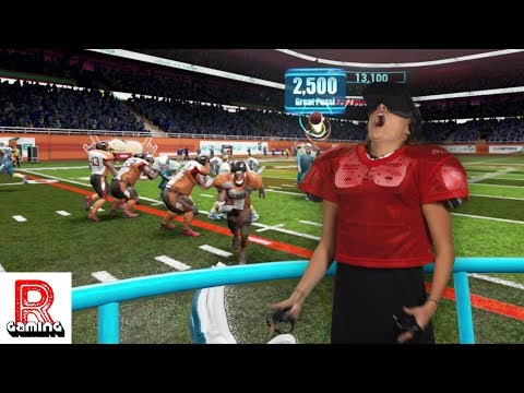 Throwing and Catching Footballs in VR!