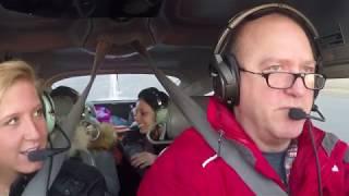 Bumpy Ride to Saratoga County  (5B2) with three college girls