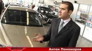 Траектория движения. Hyundai NF Sonata.