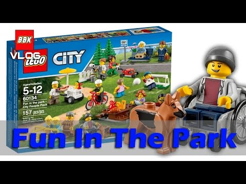 LEGO City Town 60134 Fun in the park - City People Pack Minifigure ...
