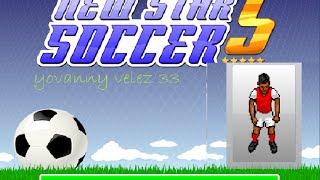 New Star Soccer 5 partido de de mostracios