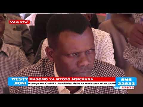 Masomo ya mtoto msichana kuimarishwa eneo bunge la Kimilili