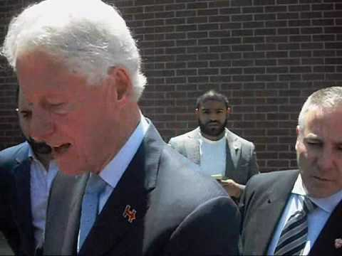 Bill Clinton asked about his son Danny Williams