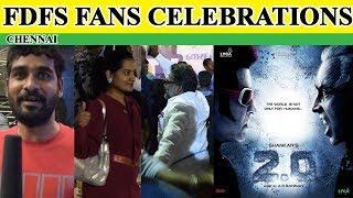 2.0 Chennai Fans Mass Celebration | G green Channel
