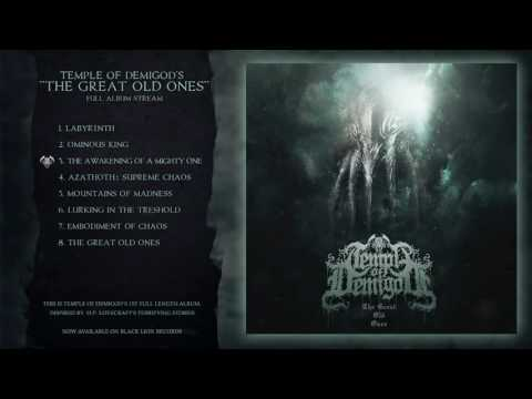 Temple Of Demigod - The Great Old Ones (full album) lovecraftian symphonic black metal