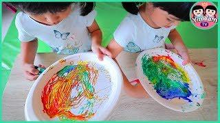 หนูยิ้มหนูแย้ม   กิจกรรมเด็ก สั่งแม่เหล็กระบายสี