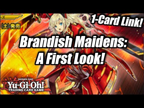 Yu-Gi-Oh! Brandish Maiden Archetype: A First Look! (1-Card Links!)