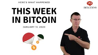 This week in Bitcoin - Jan 13th, 2020