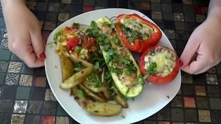 Фаршированные овощи.