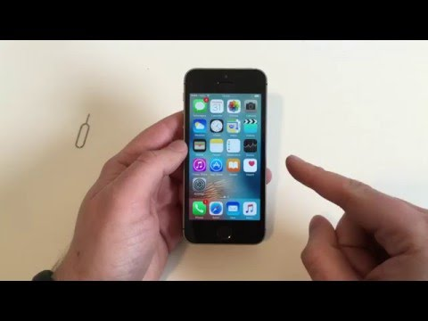 Apple iPhone SE - How to delete and reset