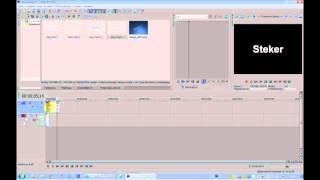 Урок Sony Vegas Pro 10 Обрезка видео и текст.