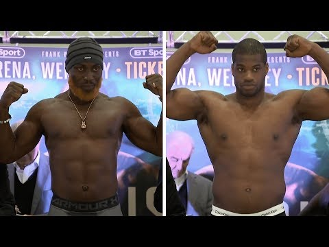 Weigh-in results: Dubois, Lartey, Catterall, Edwards and more | Dubois v Lartey | April 27th