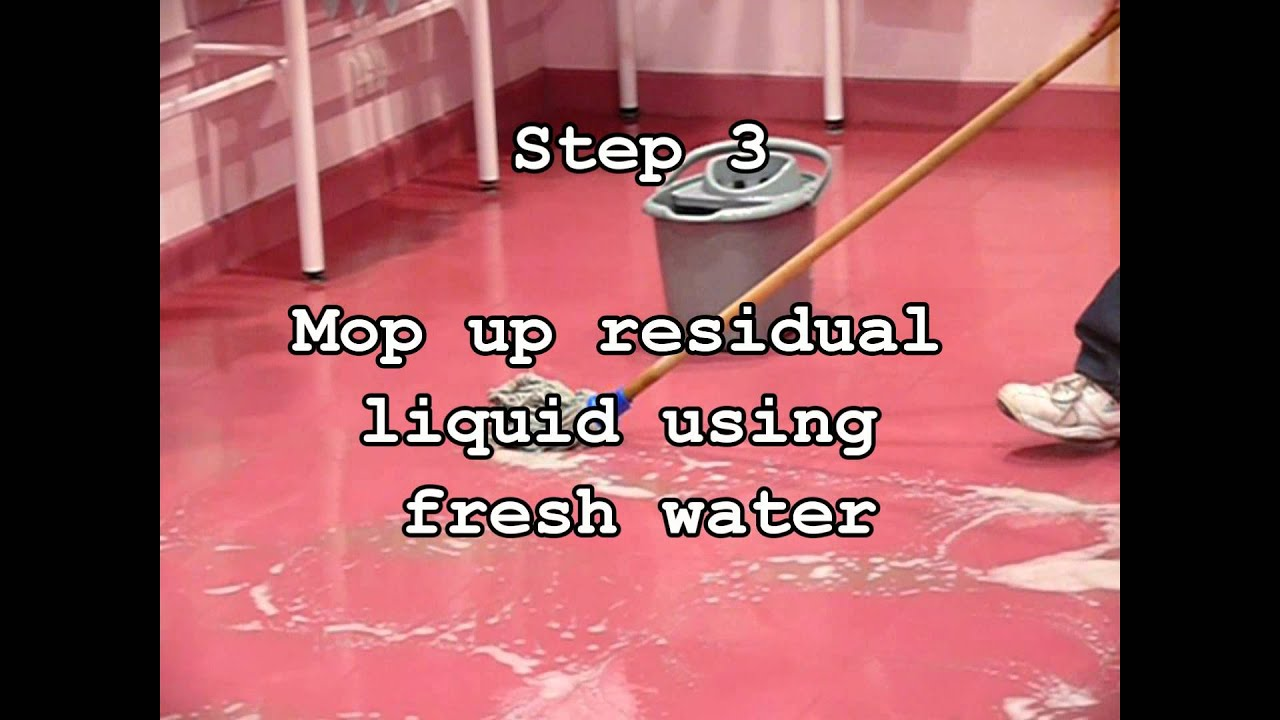 How To Strip And Seal A Floor Youtube