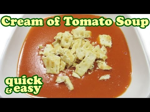 How to make condensed tomato soup from sauce