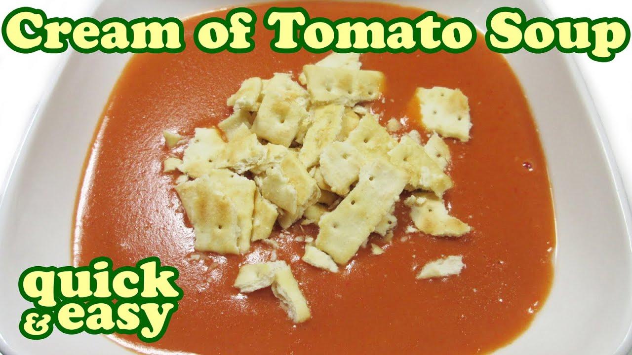 Cream Of Tomato Soup Recipe - Creamy Campbell Soups Recipes - Healthy ...