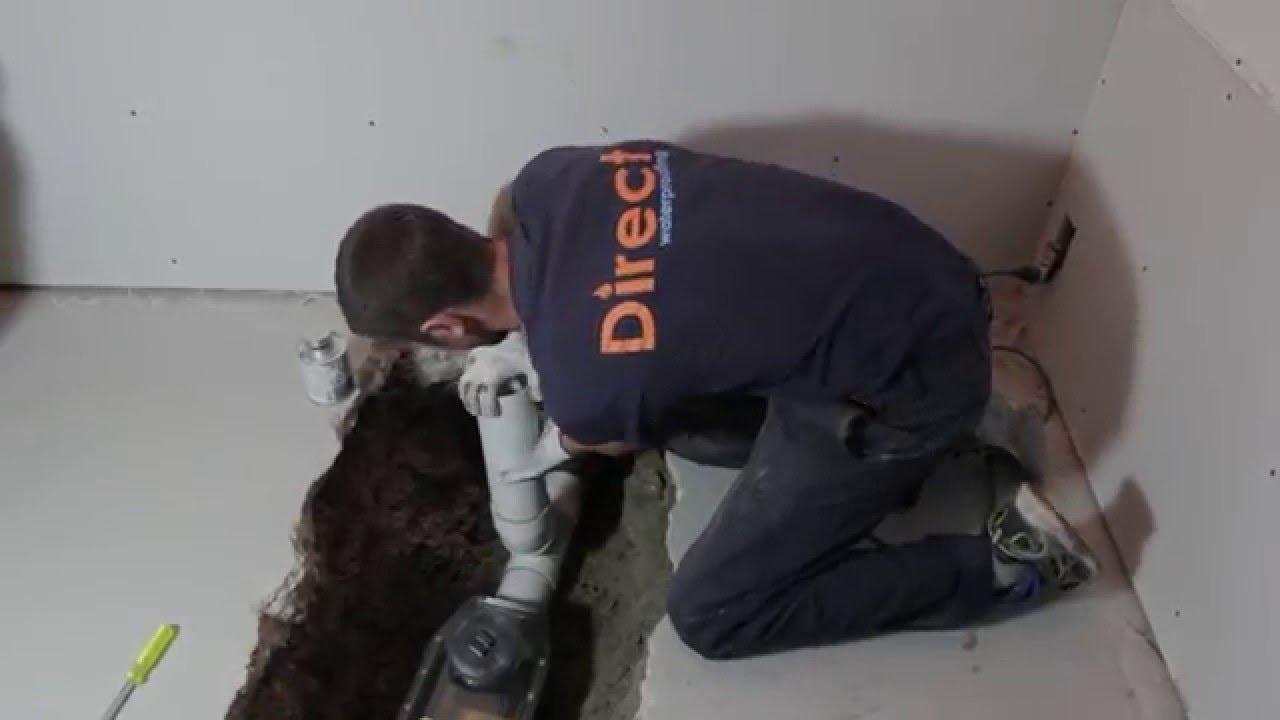 Backflow Valve Installation - Direct Waterproofing