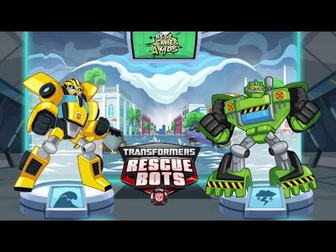Transformers Rescue Bots: Disaster Dash Hero Run #199 | COMPLETE exciting missions!