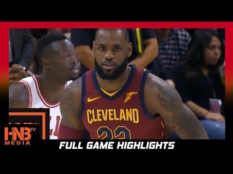 Cleveland Cavaliers vs Chicago Bulls 1st Qtr Highlights / Week 2 / 2017 NBA Season