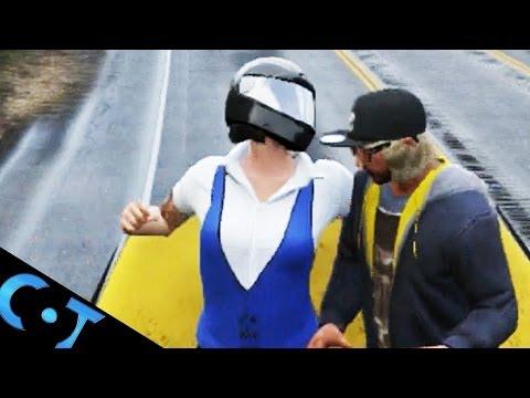GTA Online: Movie Fist Fight, Top Of Truck