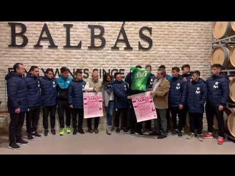Iñaki Cano e o Inter Movistar apoian o torneo de fútbol sala de Samos
