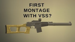 MONTAGE VSS Vintorez | Operation Scorpion | Roblox