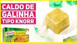 FAÇA CALDO DE GALINHA CASEIRO 100% NATURAL SEM CONSERVANTES
