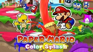 Paper Mario Color Splash #1 - Wii U - Gameplay em Português PT-BR