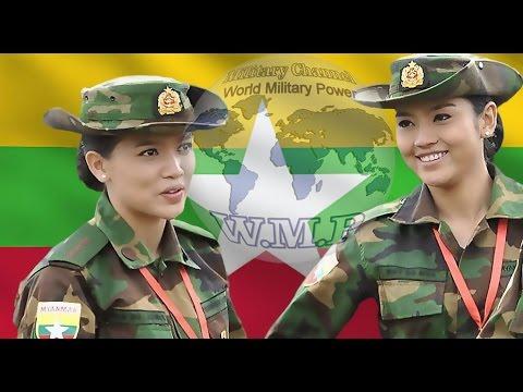 Myanmar Army   Tatmadaw   Myanmar Military Power 2016 - 2017